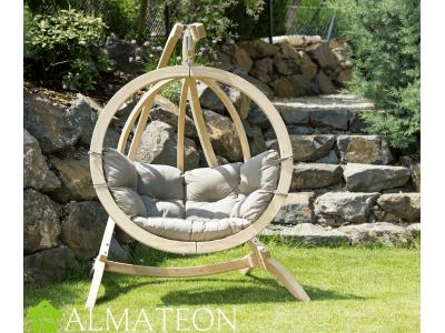 Globo Chair AMAZONAS fauteuil suspendu vendu avec support et fixations, coloris Taupe, SPECIAL DRIVE