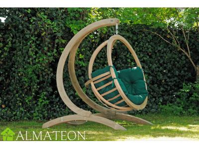 Globo Chair AMAZONAS fauteuil suspendu vendu avec support et fixations, coloris Verde, SPECIAL DRIVE