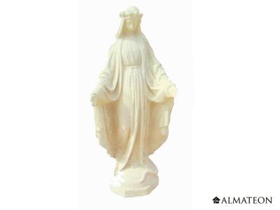 Statue en pierre Vierge, Hauteur 73 cm