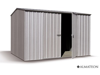 Abri en metal 4.30 m² - Shelby - Garantie : 20 ans