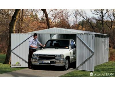 Garage en acier nervuré de 13,20 m2 MELTON